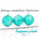 Pénzügyi alapszabályok Karácsonyra