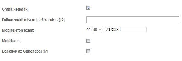 netbank Gránit Bank