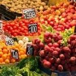Vásárlás a piacon